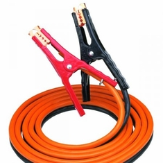 Bayco SL-3004 Orange 12′ 400 Amp Medium-Duty Booster Cable with Side/Top Jaw Design