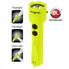 Bayco, XPP-5422G 3 AA Intrinsically Safe Permissible Dual-Light Flashlight, Green