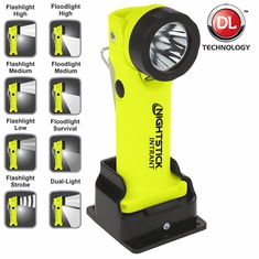Bayco XPR-5568GX INTRANT™ Intrinsically Safe Dual-Light™ Angle Light - 3 AAA