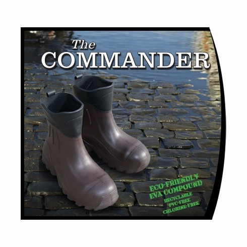 Billy Boots, The Commander