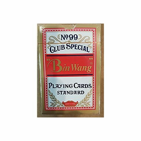 Bin Wang No.99 Club Special Playing Cards