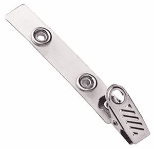 BPID 2105-2100 1-Hole Ribbed Face Strap Clip