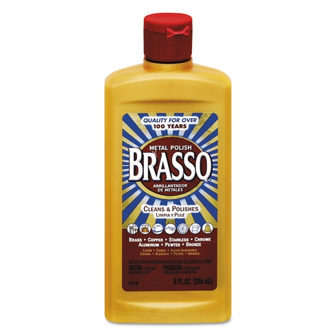 Brasso 89334 Brass and Metal Polish 8 Ounce