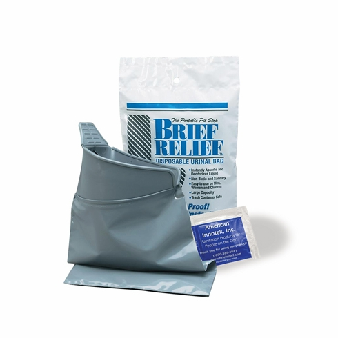 Brief Relief BR608 Disposable Urinal Bag