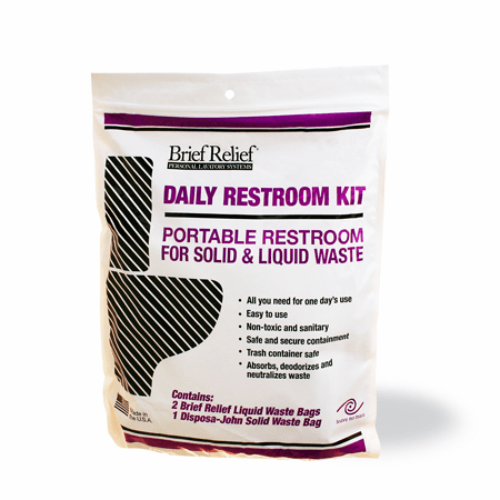 Brief Relief™ Daily Restroom Kit
