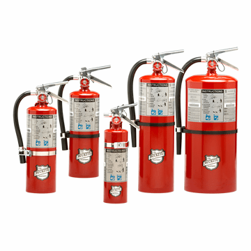 Buckeye Hand Held Portable BC Fire Extinguishers