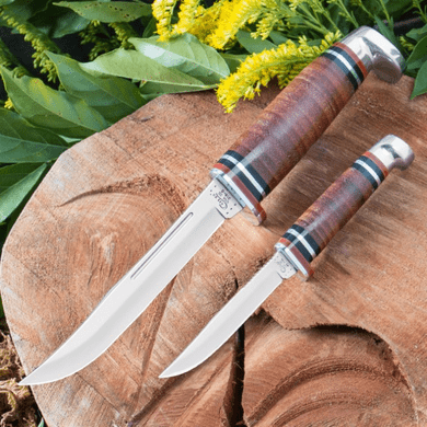 Case 372 Leather Two Knife Set