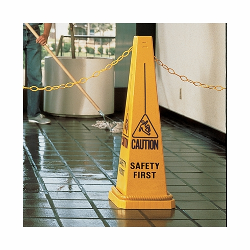 Caution Safety First - Safety Control Cone