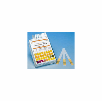 ColorpHast® pH Test Strips, Universal, 0.0–14.0