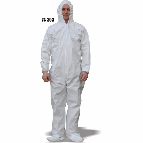 CPE Coated Coverall