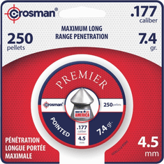 Crossman P177 250-pc. Crosman Pointed High Grade 4.5mm .177 Caliber Pellets