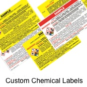 Custom Chemical RTK / GHS Lables Binders and RTK Stations