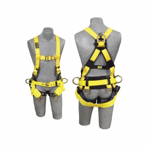 DBI Sala - Delta™ 1107776 Tower Climber Harness - Back, Front & Side D-Rings with Quick Connect Buckles