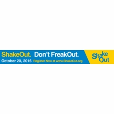 DON'T FREAK OUT Sign up now for the SHAKEOUT