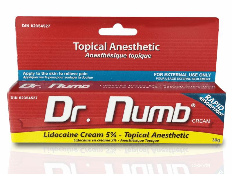 Dr. Numb Topical Anesthetic Cream
