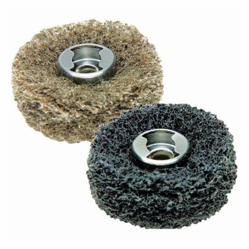 Dremel 511E EZ Lock Finishing Abrasive Buffs, 180- and 280-Grit, 2-Pack