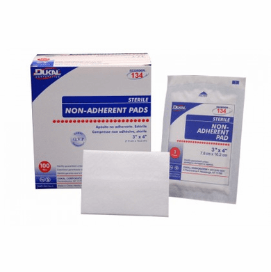 Dukal 123-A6251 Non-Adherent Sterile Pads