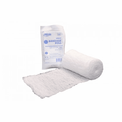 Dukal 650 Fluff Sterile Bandage Roll 4.5 Inches x 4.1 Yards 8-Ply