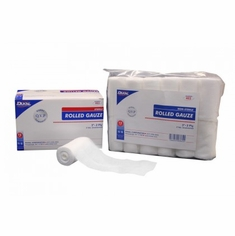 "Dukal Non-Sterile Rolled Gauze 2"" x 5 yards"