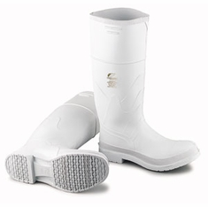 Dunlop 81011 PVC Rubber White Boot