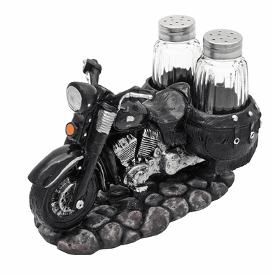 DWK 7640 Spice The Open Roads Motorcycle Salt And Pepper Shaker