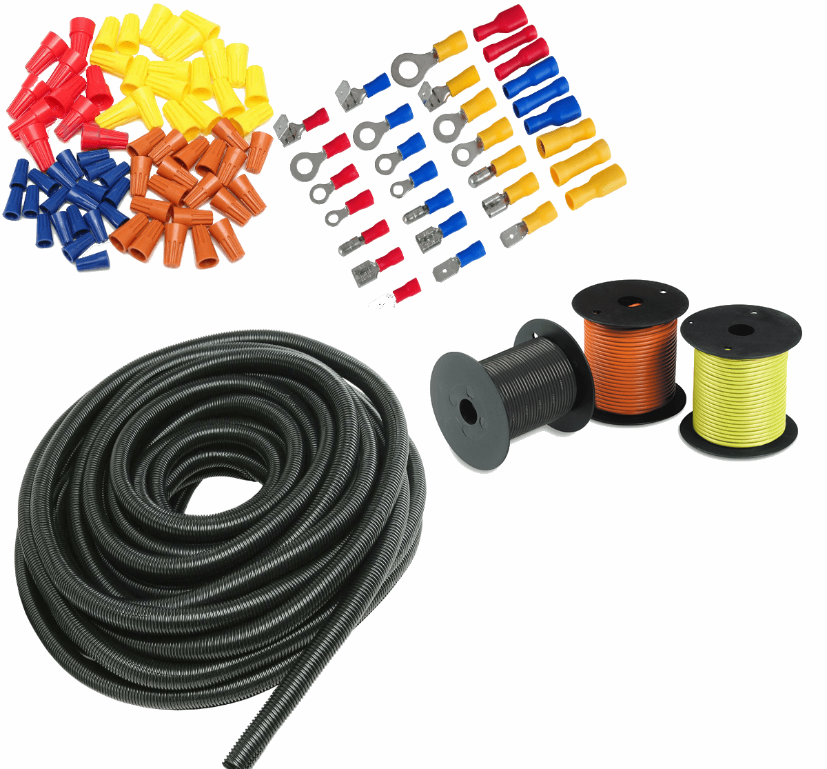 Electrical Connectors Terminals Wire Loom