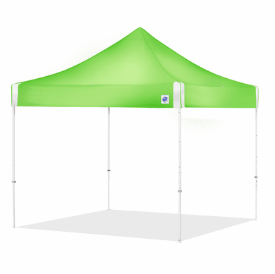 EZ Up HV910RCBGR High Vis Green 10 X 10 Utility Shelter