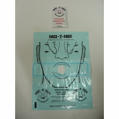 Face-2-Face CPR Shield
