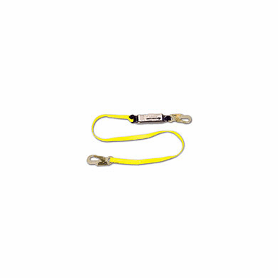 FCP, 6' Shock Absorbing Web Lanyard W / Pack, FC450A
