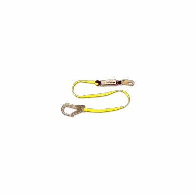 FCP,  FC-457-135A 6' Shock Absorbing Web Lanyard W/ Pack, FC-457-135A