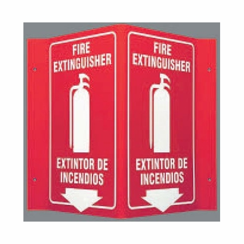 Fire Extinguisher 3D sign