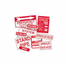 Fire Extinguisher Signs Labels
