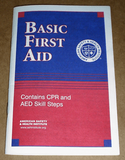 First Aid & CPR Booklet