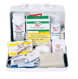 First Aid Kits / Response Bags / Vehicle kits