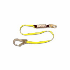 French Creek, 6' Shock Absorbing Web Lanyard W/ Pack, FC-457-135A