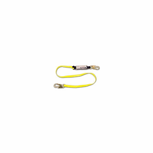 French Creek, 6' Shock Absorbing Web Lanyard W / Pack, FC450A