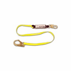 French Creek Production FC-452AN 6 Foot Shock Absorbing Lanyard - Web Pack-Style