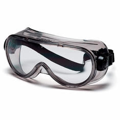 Pyramex G304T Clear H2X Anti-Fog Top Shelf Chemical Splash Goggle