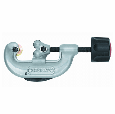 "General Tools 120 -125 Pipe And Tubing Cutter W/Rollers 1/8""TO 1-1/8"" OD"