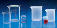 Glass And Plastic Beakers