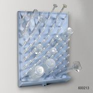 Globe 600213 Drying Rack 72 Place Removable Pegs