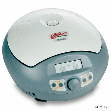 GS GCM-12 Centrifuge, Micro, 12-Place, High Speed 120-240v, 50/60Hz, w 12-Place Rotor for 1.5/2.0mL