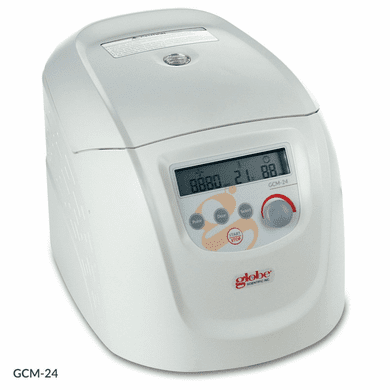GS GCM-24-UK Centrifuge, Micro, 24-Place, High Speed, 230v,50Hz w UK Plug and 24-Place Rotor for 1.5/2.0mL MCTs