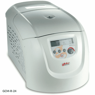 GS GCM-R-24-UK Centrifuge, Micro, Refrigerated, High Speed 230v, 50Hz, UK Plug, w 24-Place Rotor
