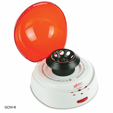 GS GCM-R-EU Centrifuge, Mini, 8-Place,240v/50Hz, Red Lid 7000rpm Fixed Speed, EU Plug
