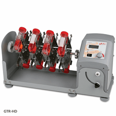 GS GTR-HD Tube Rotator, Horizontal, Digital,120-240v,50/60Hz Includes 16 x 50mL Vertical Tube Holder