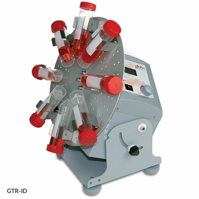 GS GTR-ID Tube Rotator, Industrial, Digital,120-240v,50/60Hz Variable Speed and Angle, 8x50ml Disk Included