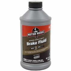 Gunk M44-12 Motor Medic DOT 3 Heavy Duty Brake Fluid