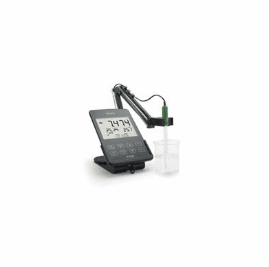 HANNA HI2020 edge­® Multiparameter Meter pH Kit,