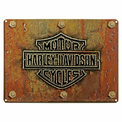 Harley Davidson 10831 Made Plate Tin Sign